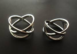 symbolic rings unconventional wedding rings with sweet symbolism from bilingual