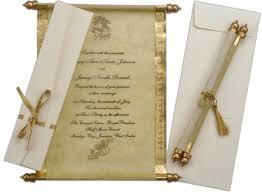 indian wedding invitations scrolls scroll wedding invitations cheap kac40 info