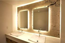 bathroom mirrors with led lights led light up bathroom mirror illuminated make mirrors vanity with