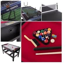triumph 4 in 1 game table 66 6 in 1 multi game swivel table hover hockey billiards table