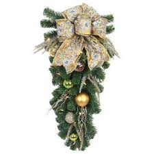 pre lit swag wreaths garland the home