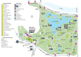 Chicago Botanic Garden Map by Melbourne Botanical Gardens Map Botanical Gardens Melbourne Map