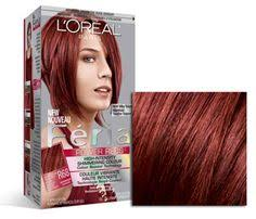 best color for hair if over 60 l oreal paris feria multi faceted shimmering colour 56 auburn