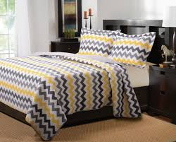 Navy And Yellow Bedding Bedroom The Easy Way To Find The Best Chevron Bed Set Chevron