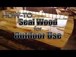 bar top sealant how to seal wood for outdoor use diy youtube