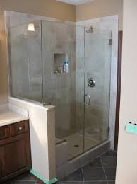 Shower With Door Custom Shower Doors Frameless Vs Semi Frameless Worth The Cost