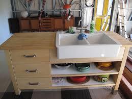 ikea kitchen sink cabinet drawers domestic bliss thanks to varde domsjo sink hack ikea