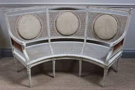 swedish painted furniture circa 1900 swedish painted curved sofa furniture