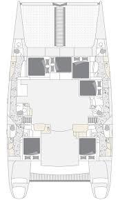 Cabin Layouts Voyage Charters Bareboat Charters Voyage 580 Luxury Crewed