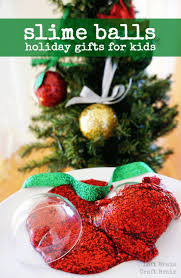 slime balls holiday gifts for kids slime ornament and gift