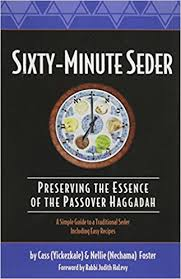 reform passover haggadah sixty minute seder preserving the essence of the passover haggadah