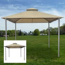 walmart patio gazebo garden winds replacement canopy for gazebos sold at walmart or