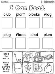 best 25 blends worksheets ideas on pinterest consonant blends