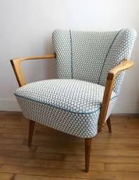 50s Armchair Retro Vintage 50s Armchair Deco Oak Large Cocktail Chair Mid