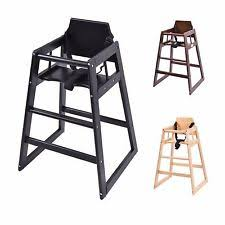 Toddler High Chairs Wooden High Chairs Baby Feeding Chairs Ebay