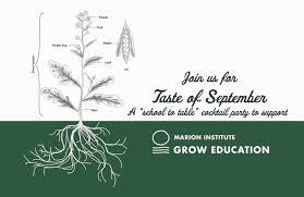 grow activities u0026 workshops marion institute