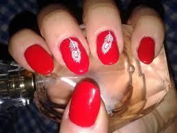 beautiful red nail art designs design trends premium psd