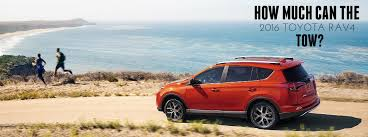 how much can a toyota tow how much can the 2016 toyota rav4 tow