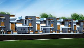 Modern Row Houses - individual villas u0026 row houses in coimbatore