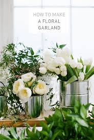 floral garland holy matrimony the most epic wedding floral diy apartment34