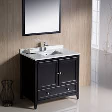 Traditional Bathroom Vanities Fresca Bath Fvn2036es Oxford Vanity 36