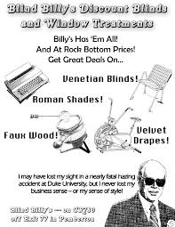 Discount Blinds Advertising Matthew C Mariner