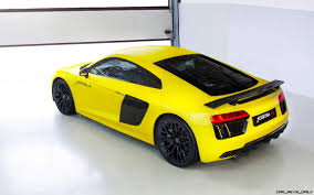 Audi R8 Yellow - fostla de 2017 audi r8 v10 plus sunflower matte metallic self