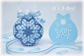 it s a boy quilted ornament kit