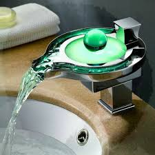 Steel Chopper Picture More Detailed Picture About LED Waterfall - Bathroom tap designs