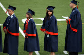 cap and gown for high school california graduation rates improve but show unacceptable gaps