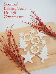 scented baking soda dough ornaments northstory