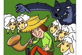 village town references the boy who cried wolf storytelling mikelockett com