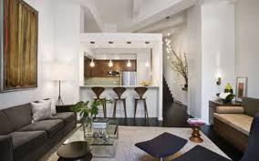Stylish Living Room Design Ideas For Apartments With Elegant White - Apartment room designs