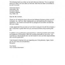thank you email letter after job interview cover templates thank
