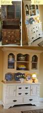 Chalk Paint Ideas Kitchen by 25 Best Chalk Paint Hutch Ideas On Pinterest Colored Chalk