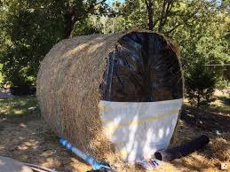 hay bale blind projects to try pinterest hay bales and hay hay bale blind
