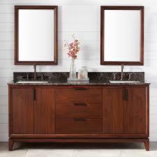 Wood Bathroom Vanity by Mahogany Wood Bathroom Vanity Signature Hardware