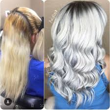 can you mix igora hair color how to stunning silver white behindthechair com