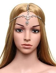chain headpiece babeyond women s forehead chain bridal wedding chain