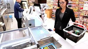 Even Bill Would Check Out - panasonic introduces robotic checkout at a grocery store in osaka