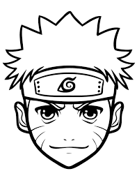 coloring pages anime naruto for kids cartoon coloring pages of