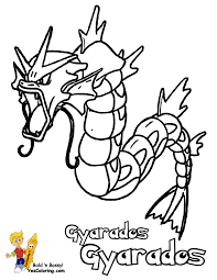 coloring pages for boys 1 pokemon gyarados coloring pages