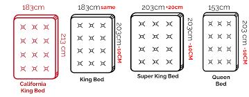 queen size bed in cm how big is california king bed california king beds