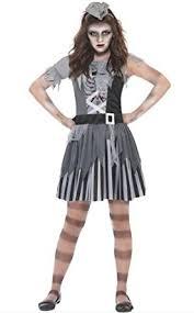 Girls Ghost Halloween Costume Girls Ghost Ship Pirate Fancy Dress Kids Scary Halloween Costume
