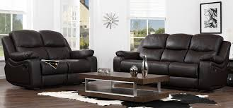Black Recliner Sofa Set Recliner Leather Sofa Deals Centerfieldbar Com