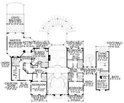 mediterranean style house plan 6 beds 8 baths 6904 sq ft plan
