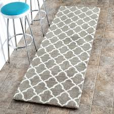 Trellis Kitchen Rug Nuloom Machine Made Kitchen Microfiber Trellis Microfiber Runner