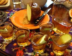 halloween infusion caramel apple liqueur boozed infused