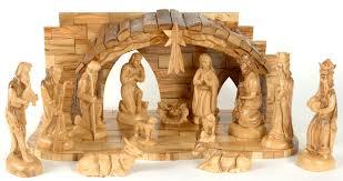 olive wood nativity sets olive wood nativity set holy land