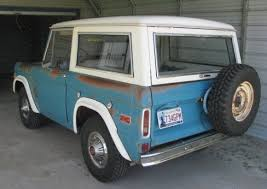 don u0027t paint it well aged 1970 ford bronco sport bring a trailer